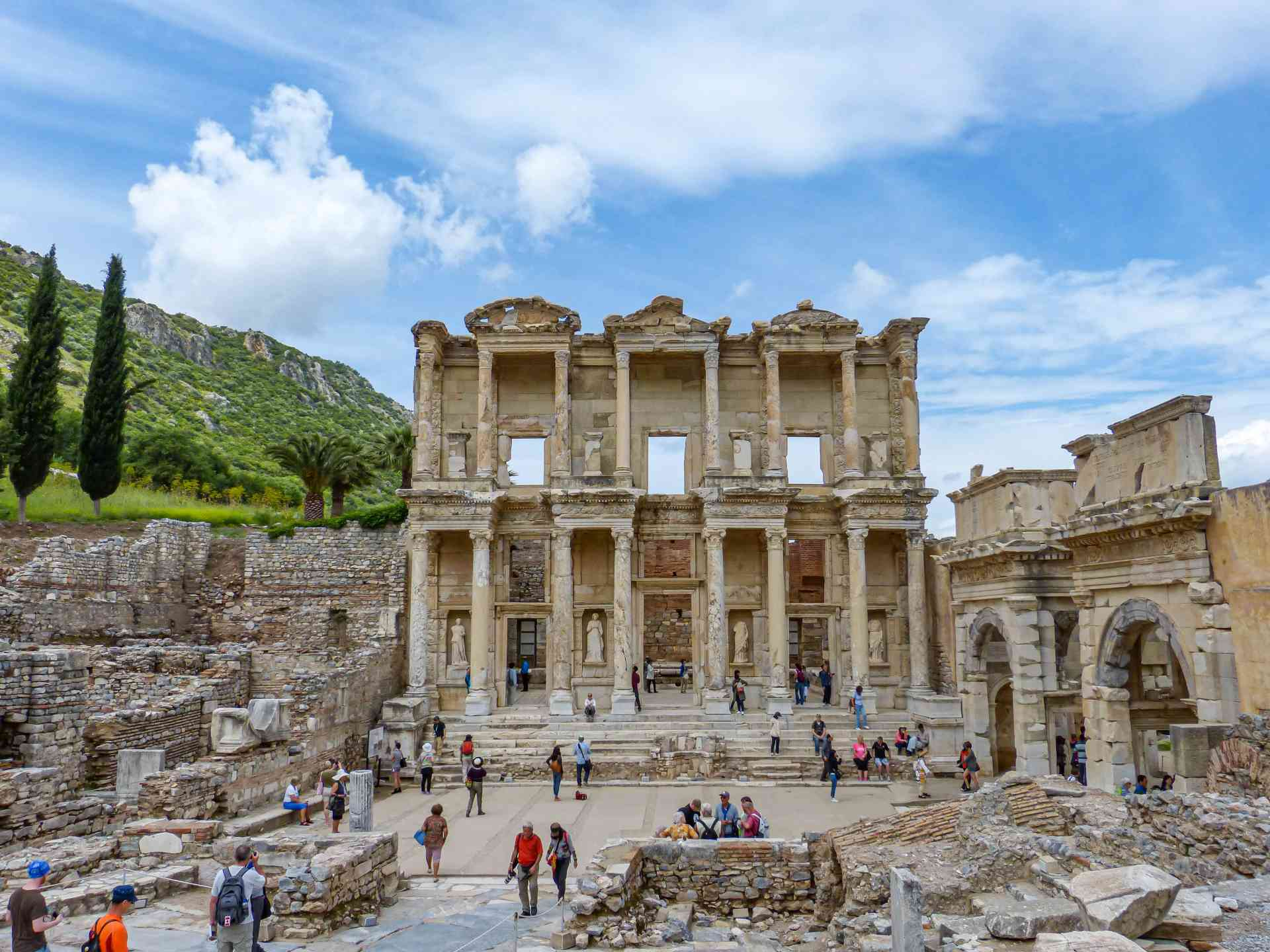 Ephesus, Turkey by Sacha Bunnik