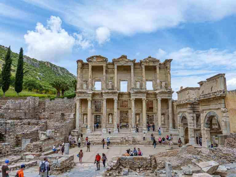 Ephesus, Turkey by Sacha Bunnik