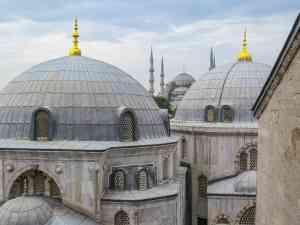 Hagia Sophia, Istanbul, Turkey by Dennis Bunnik