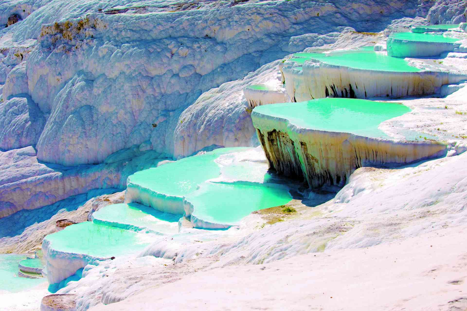 Pamukkale, Turkey by Graham Meale