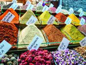 Istanbul Spice Bazaar, Turkey by Dennis Bunnik