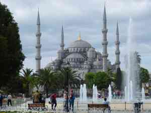 Blue Mosque, Istanbul, Turkey by Sacha Bunnik