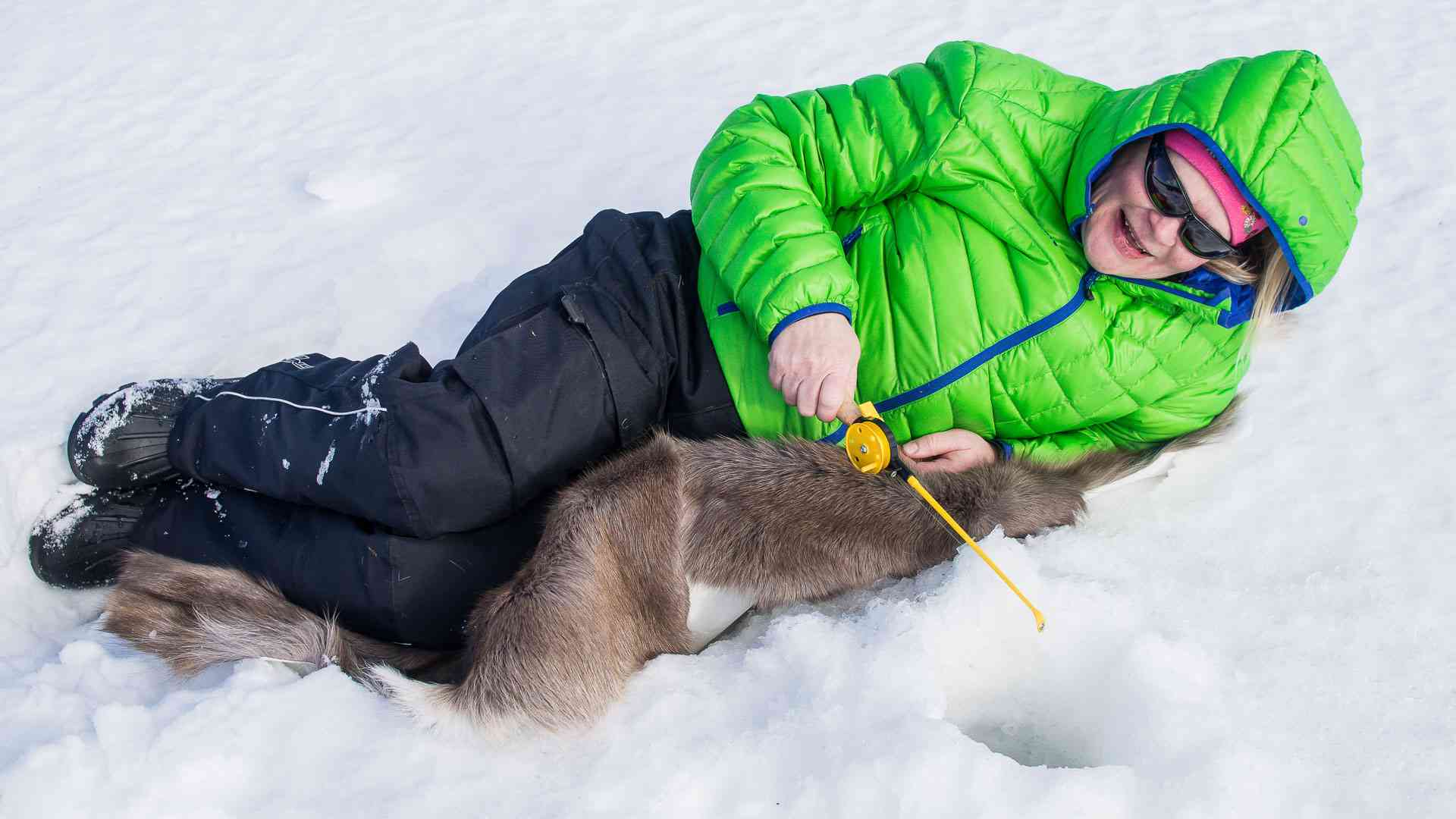 Ice Fishing Experience, Levi, Finland by Wild Nordic Finland