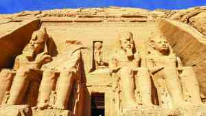 Abu Simbel, Egypt by Victoria Hearn