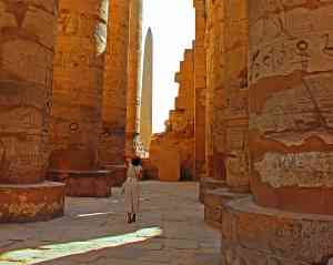 Karnak Temple, Luxor, Egypt by Catherine Kelly