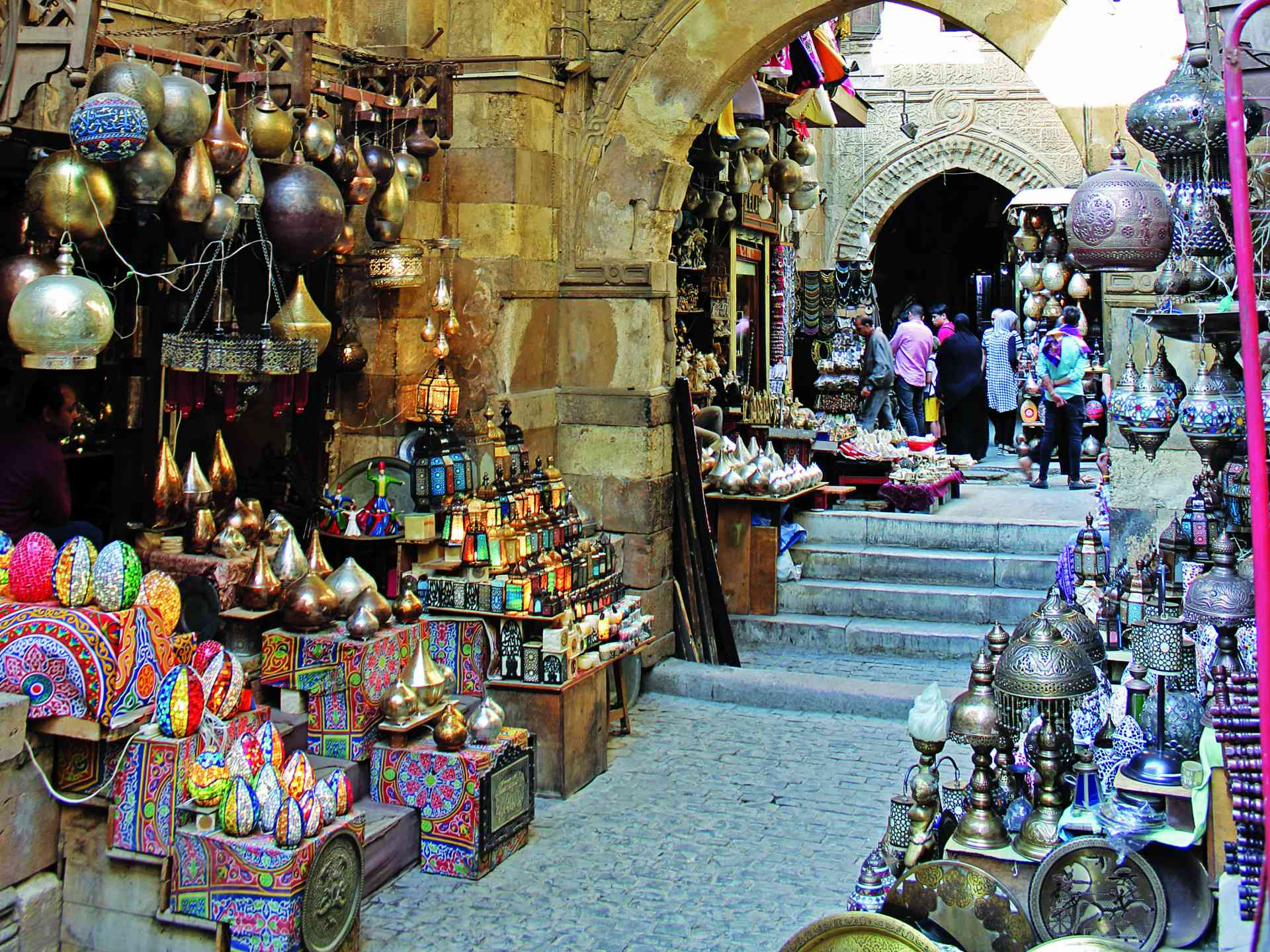 Khan el-Khalili, Egypt by Catherine Kelly