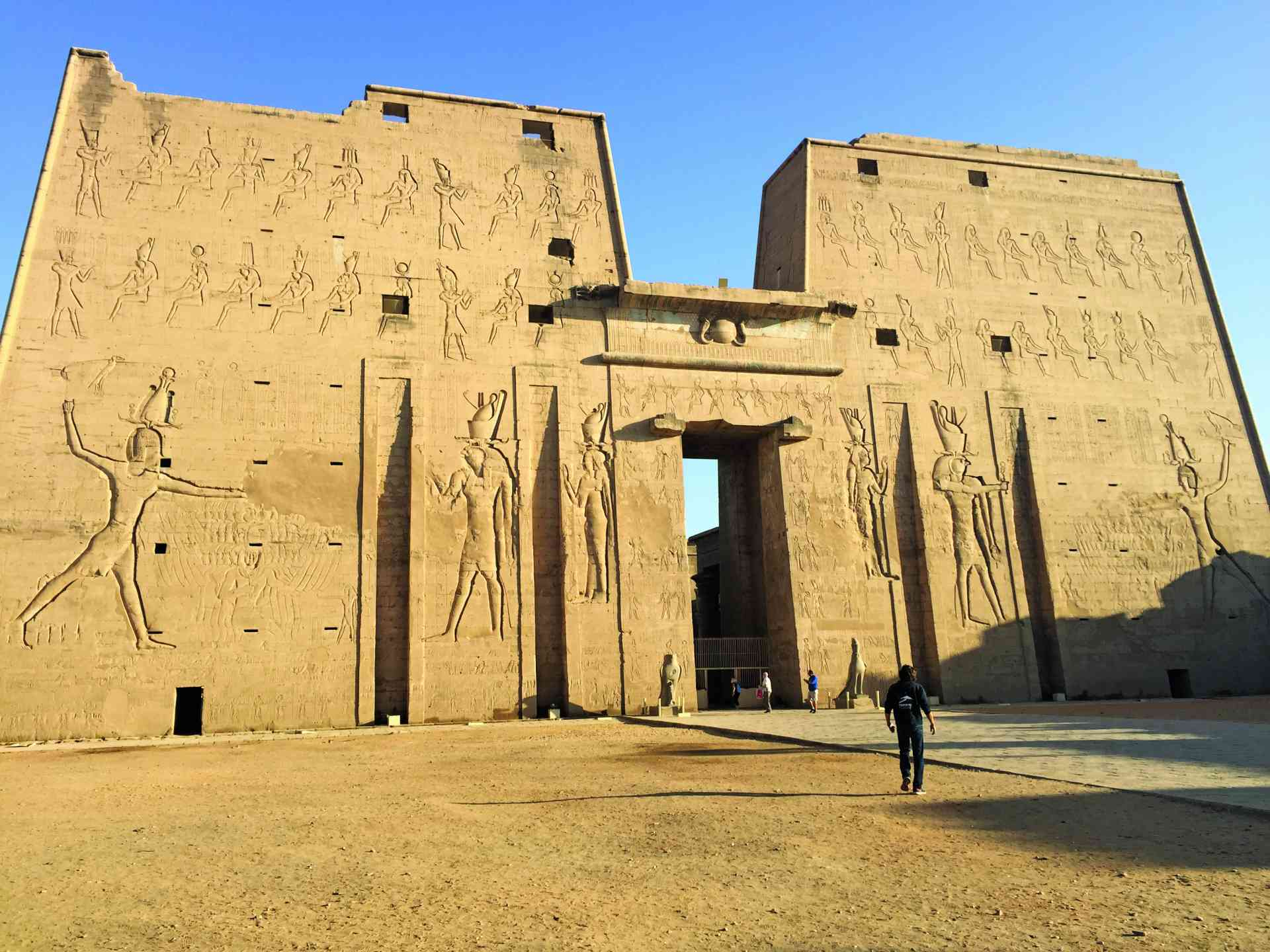 Temple of Horus, Edfu, Egypt by Zoe Francis