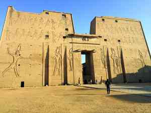Temple of Horus, Edfu, Egypt by Zoe Francis