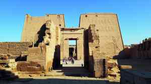 Temple of Horus, Edfu, Egypt by Dennis Bunnik
