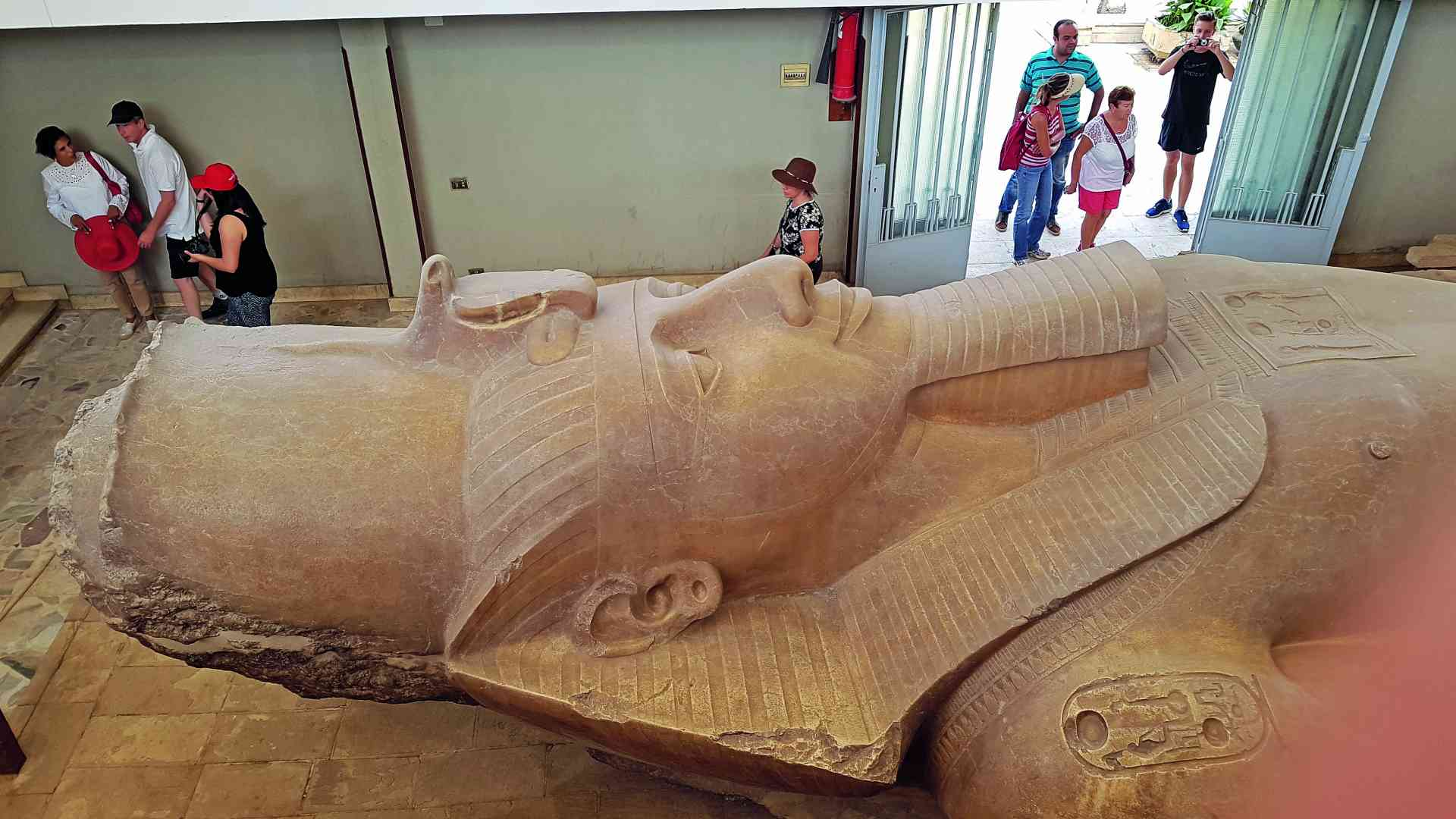 Statue of Ramses II, Memphis, Egypt by Dennis Bunnik