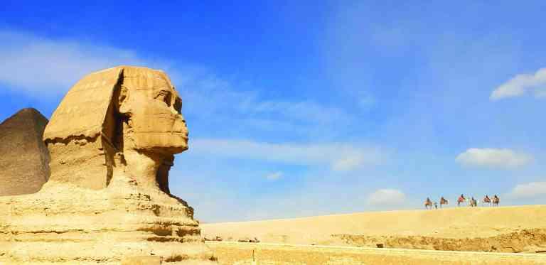 Great Sphinx, Egypt by Jayne Harris