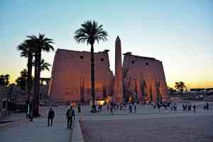 Luxor Temple, Egypt by Pamela Frisari