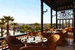 The Terrace at the Old Cataract Hotel, Egypt