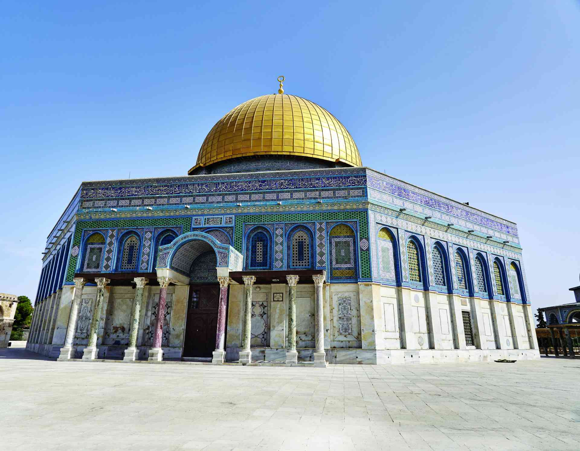 Dome of the Rock, Jerusalem by Edgardo Olivera