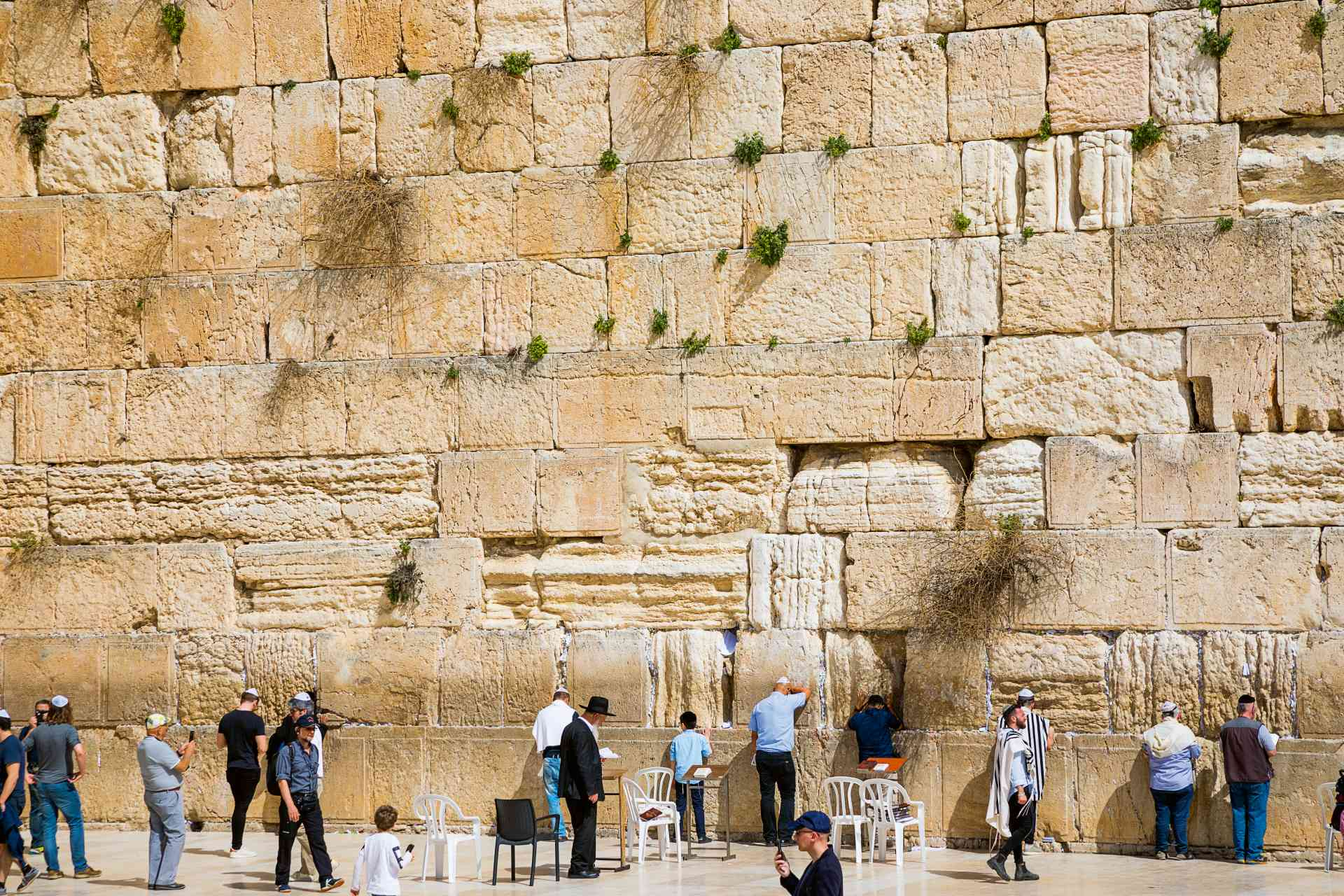 The Western Wall, Israel by Marion Bunnik