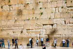 The Western Wall, Israel by Marion Bunnik