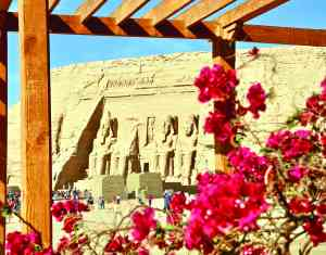 Abu Simbel, Egypt by Ian Carter