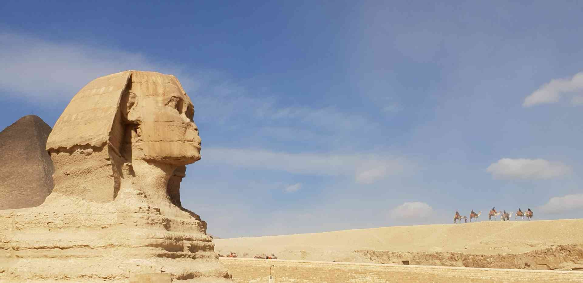The Sphinx, Egypt by Jayne Harris