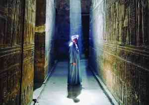 Edfu Temple, Egypt by Lina Illic