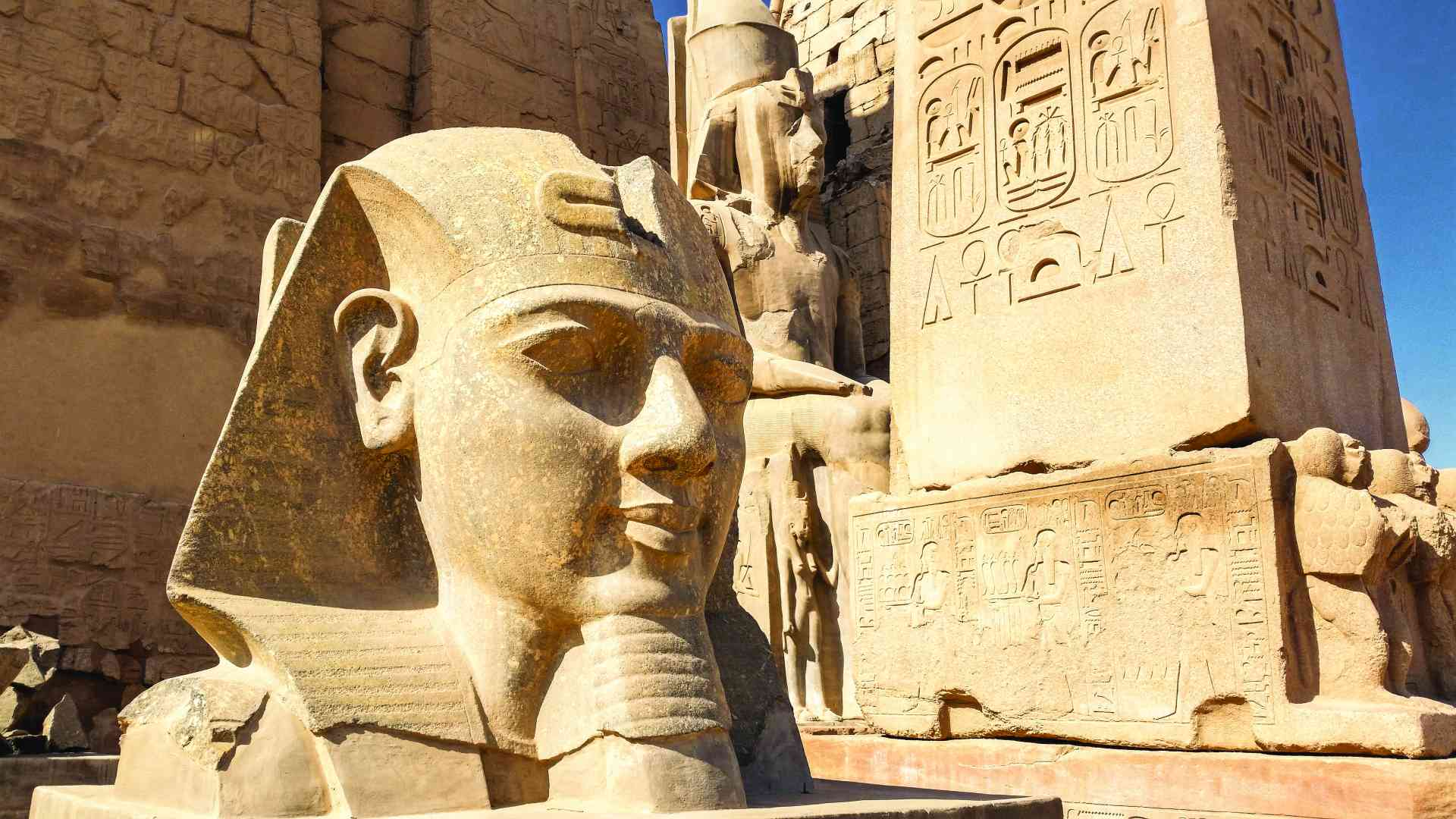 Luxor Temple, Egypt by Dennis Bunnik