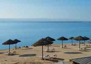 Dead Sea, Jordan by Dennis Bunnik
