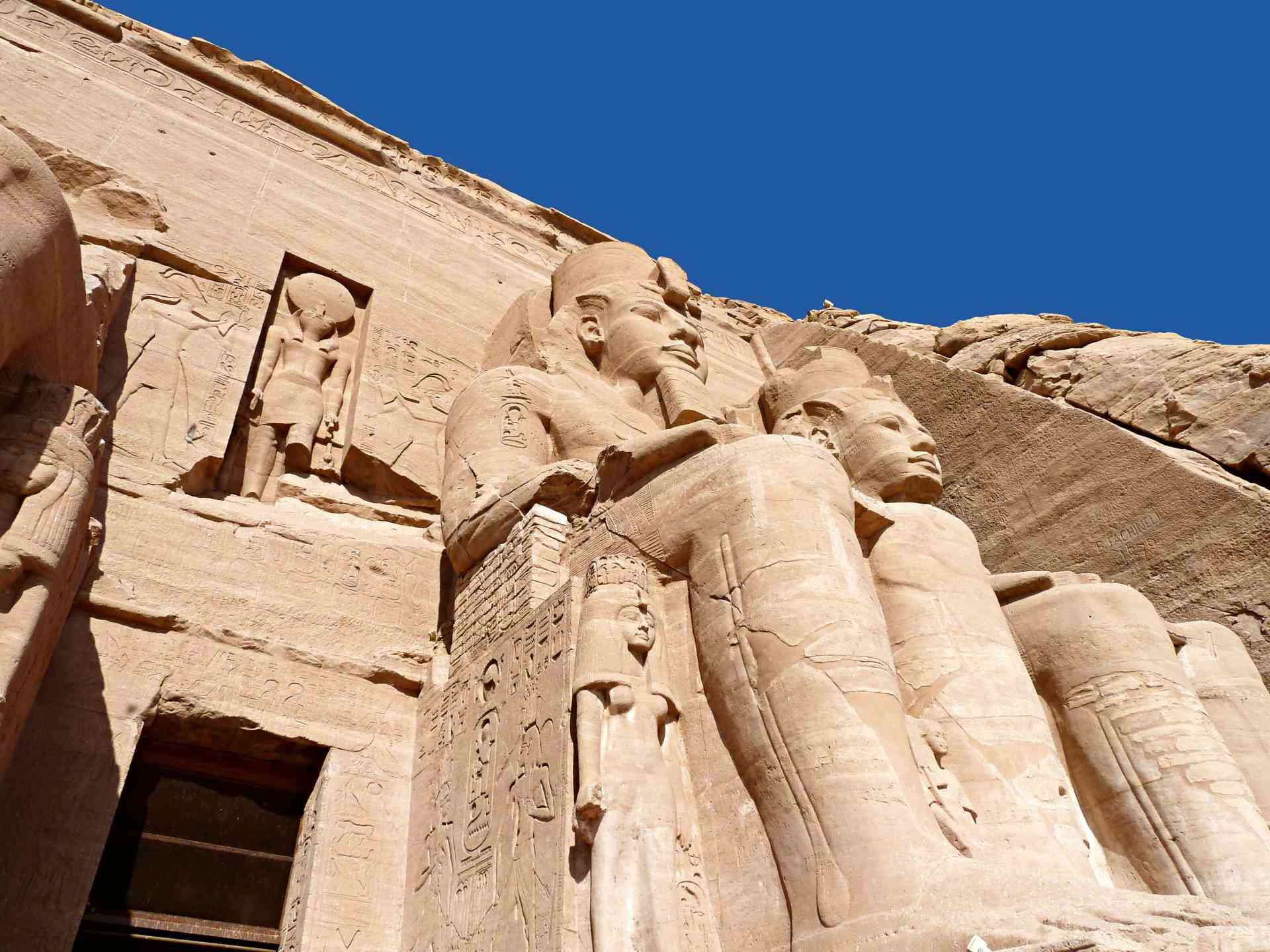 The stunning temples of Abu Simbel, Egypt