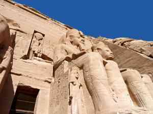 The stunning temples of Abu Simbel, Egypt