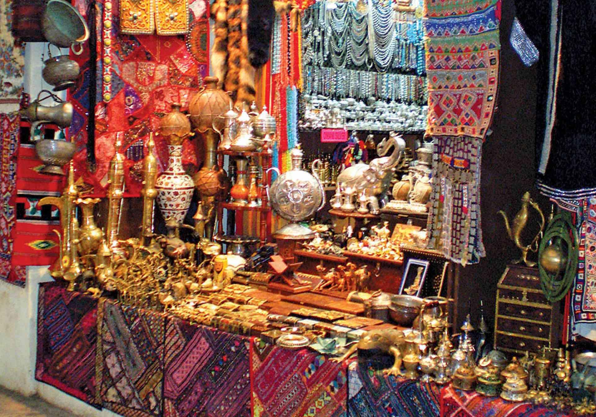 Souk souviners, Muscat, Oman
