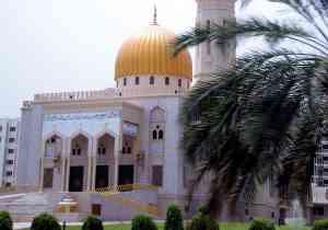 Mosque, Muscat, Oman by Robert La Bau