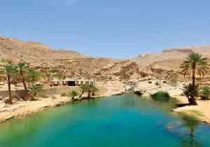 Wadi Bani Khalid, Oman by Prasad Pillai
