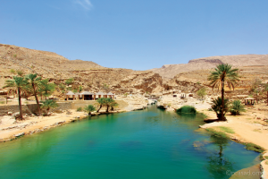 Wadi Bani Khalid by Prasad Pillai