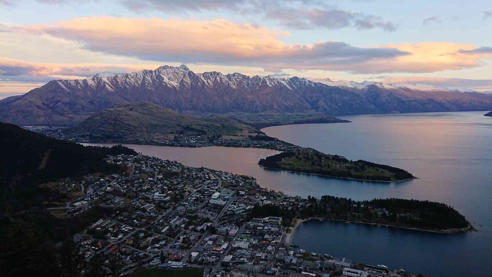 Queenstown, New Zealand by Priscilla Aster