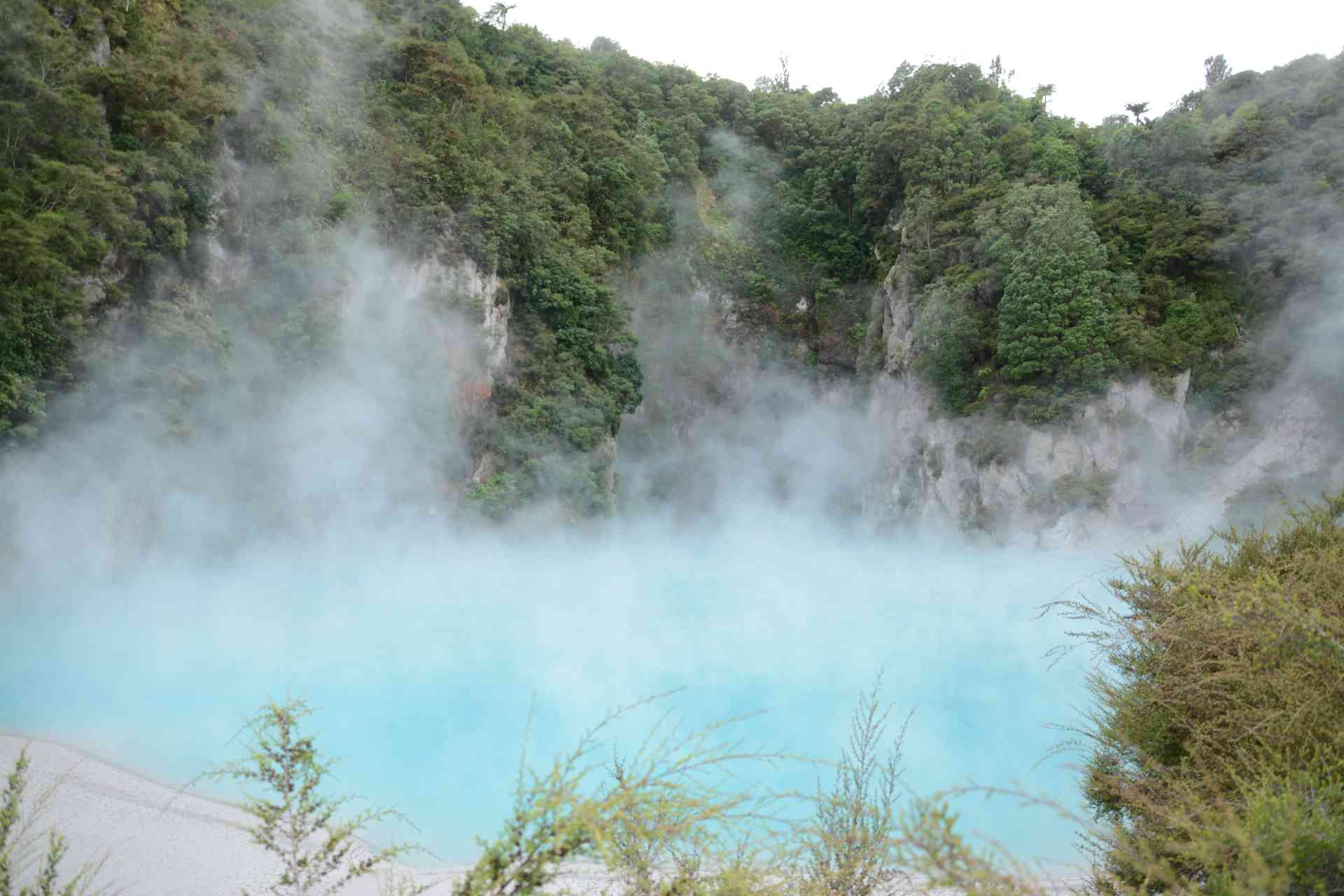 Rotorua, New Zealand by Victoria Hearn