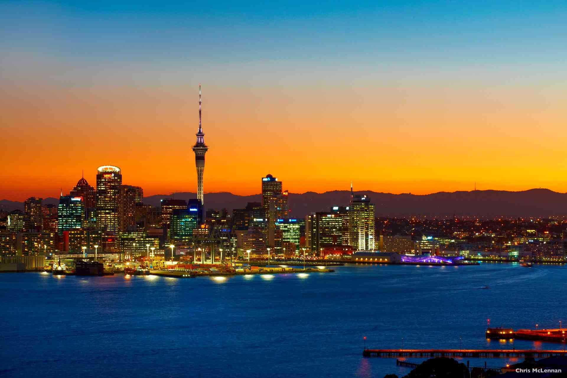 Auckland, New Zealand by Chris McLennan
