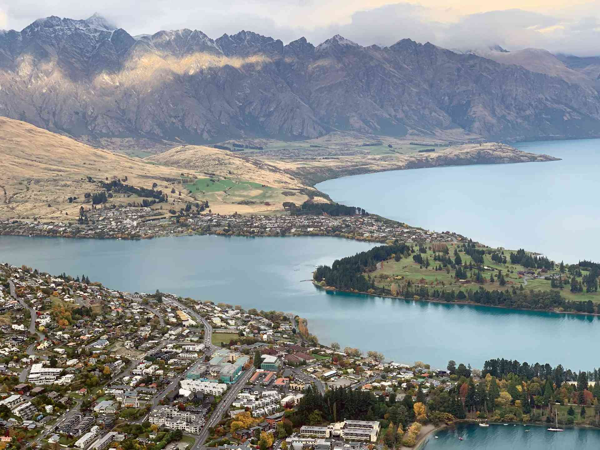 Queenstown, New Zealand by Carly De Blasio