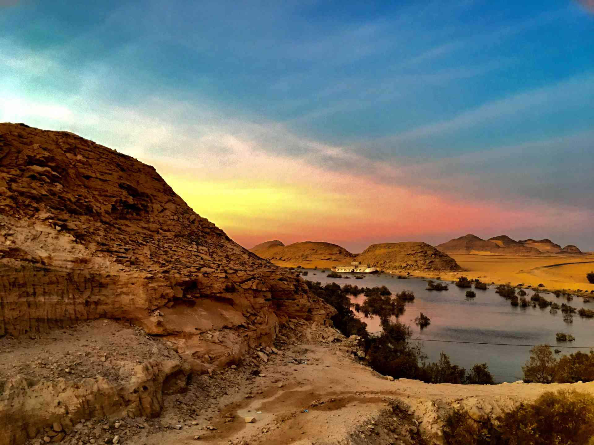 Congratulations to our February 2019 winner Helene H for this incredible shot at Lake Nasser in Egypt.
