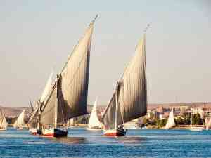 Congratulations to Jan S our December 2019 winner for this sensational shot of sailing the legendary Nile in traditional feluccas. Awesome work!