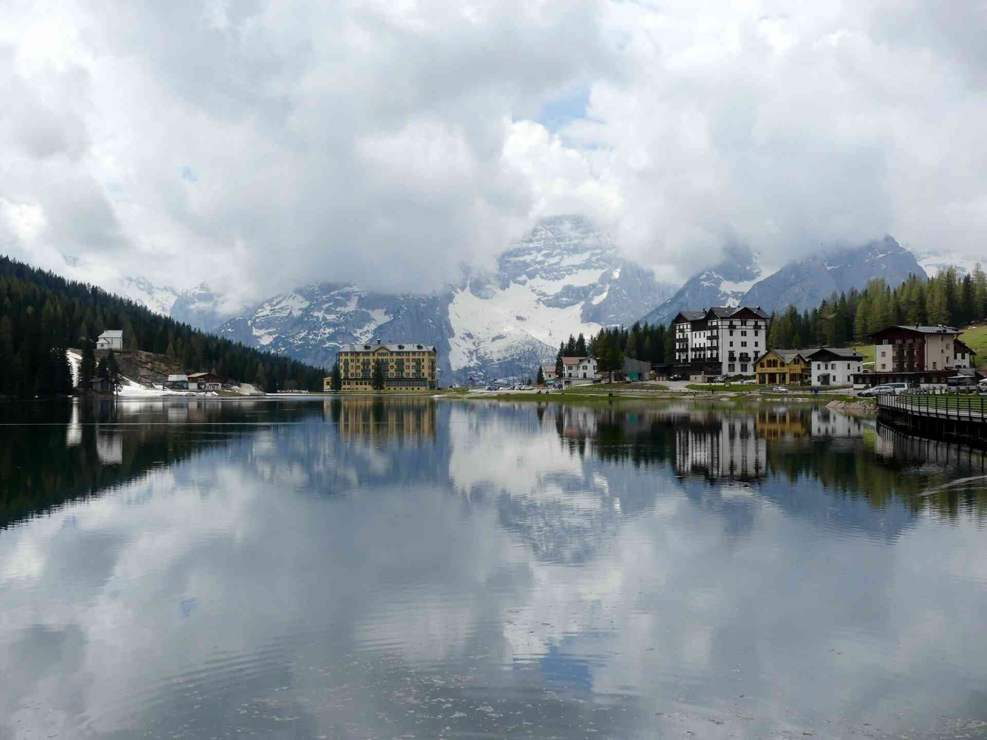 Congratulations to our March 2019 winner Janice S for this amazing shot of Lake Misurina in Italy! Simply beautiful.