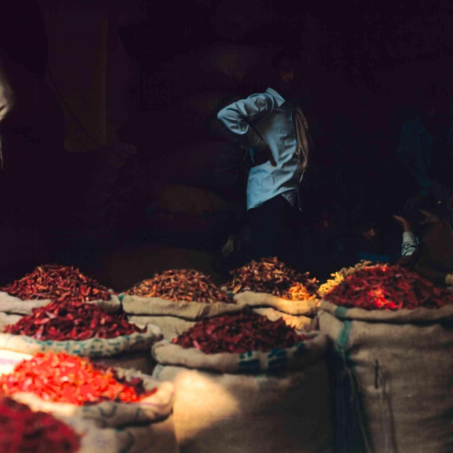 Spices, Delhi, India