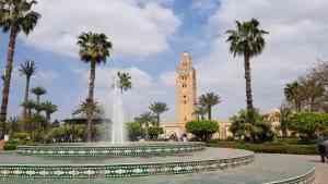 Koutoubia Mosque, Marrakech, Morocco by Dennis Bunnik