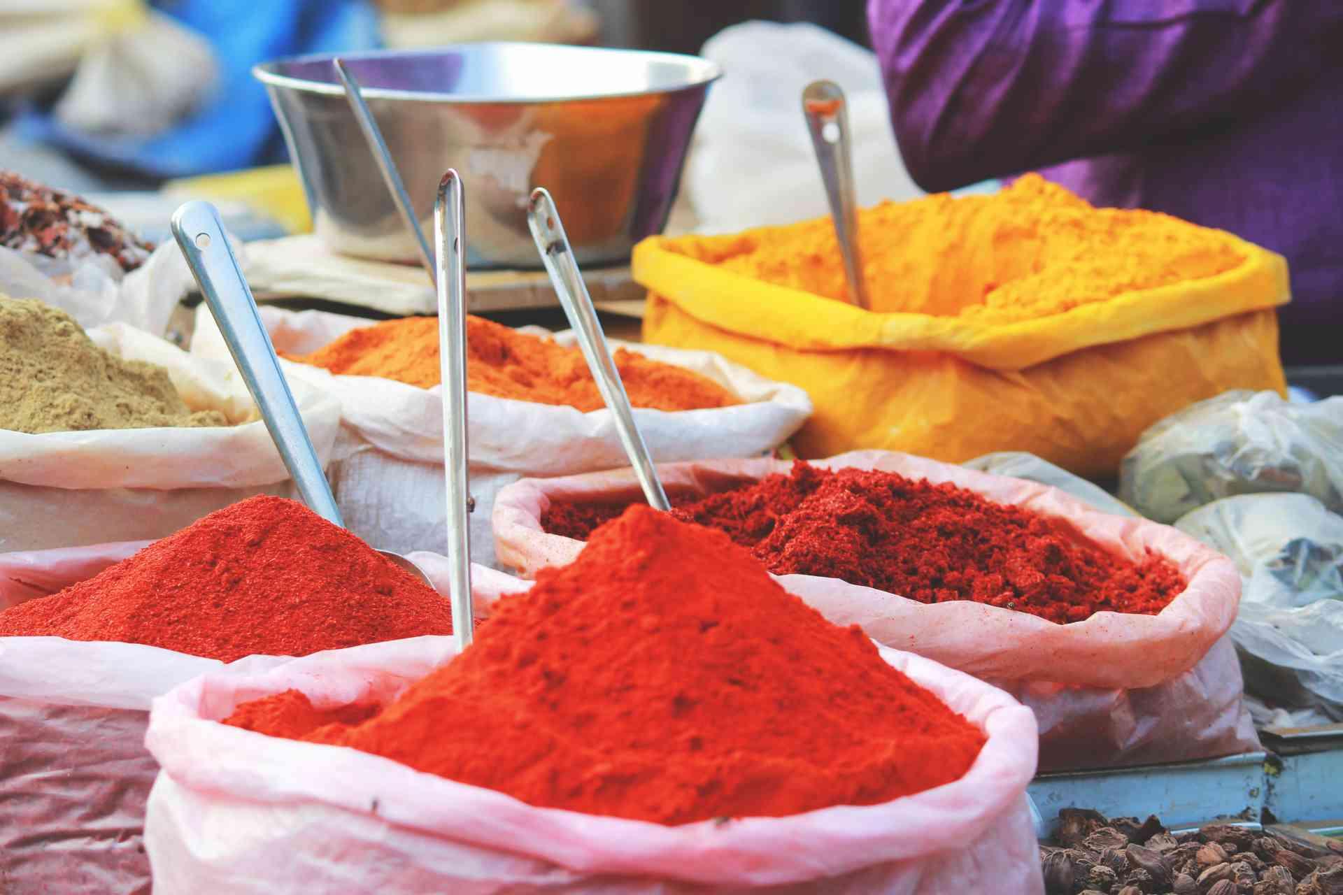 Spices, Morocco