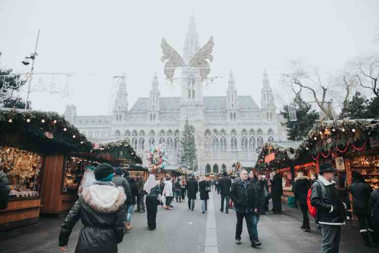 Vienna Christmas Markets, Austria by Alisa Anton/Unsplash