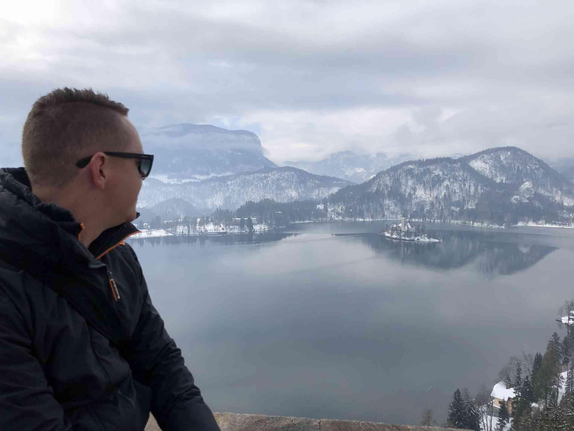 Lake Bled, Slovenia by Adam Dickson