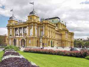 Croatian National Theatre, Zagreb by David Hein