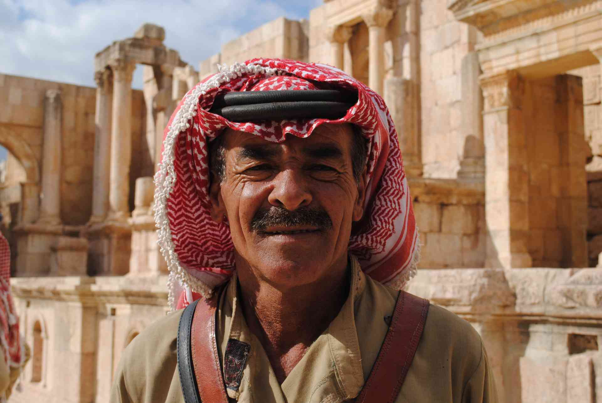 Local at Jerash, Jordan
