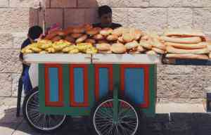 Food Vendor, Jerusalem, Israel