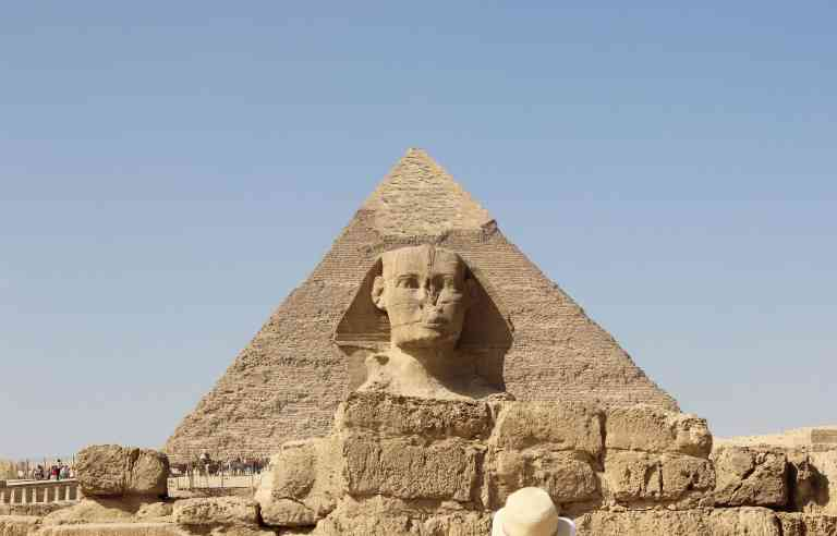 Great Pyramid and Great Sphinx of Giza,Egypt