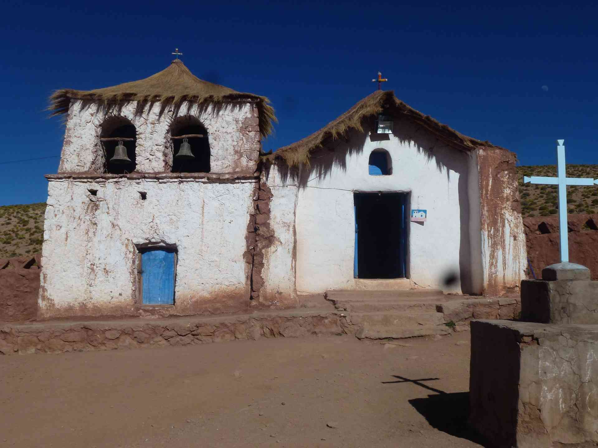 Church of Machuca in the Atacama Desert, Chile by James Atwell