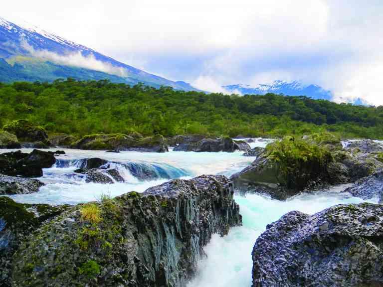 Petrohue Falls, Argentina by Marion Bunnik
