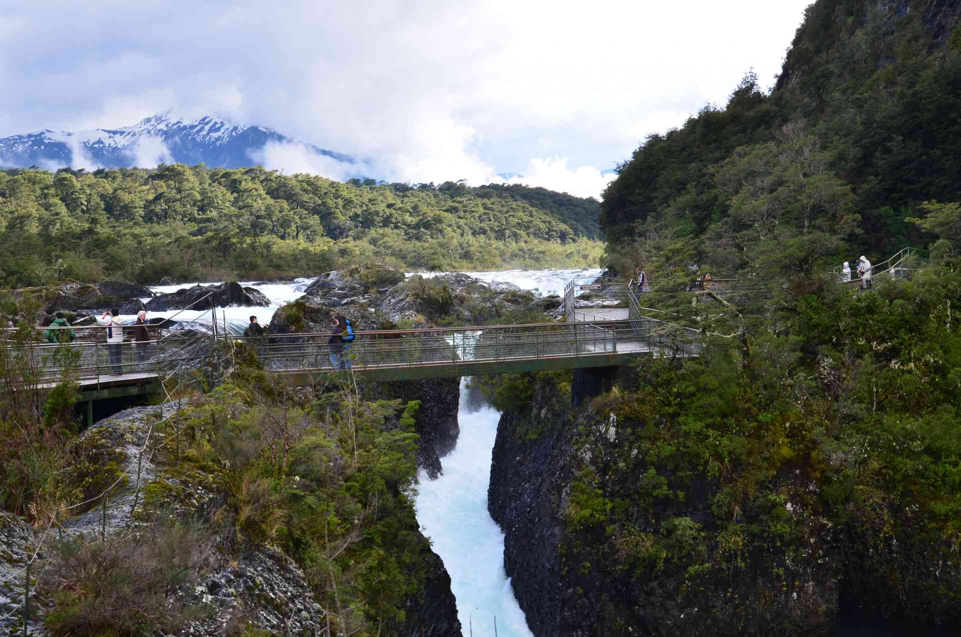 Petrohue Falls, Argentina by Annelieke Huijgens